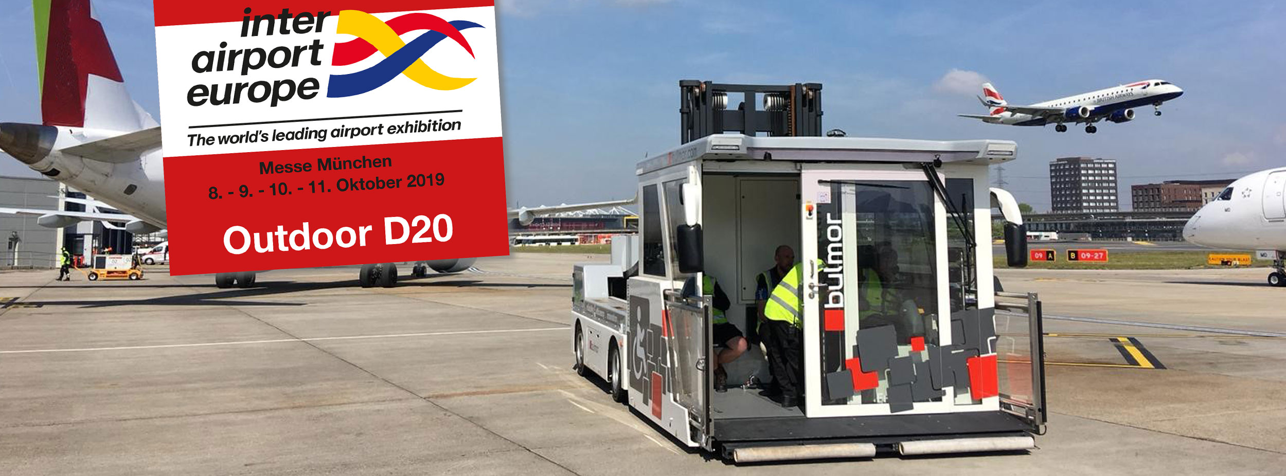interairport show with ambulift